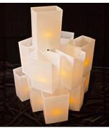 WHITE Luminary Light Set - electric walkway lights - hard shell Plastic ... - $175.00
