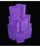 PURPLE Luminary Light Sets - electric PATHWAY walkway lights HALLOWEEN - $175.00