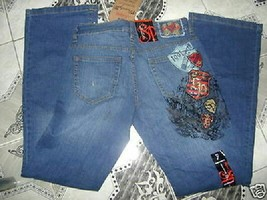 "Southpole Freestyle Denim ""Gossip"" Embroidered Jean Jrs Sz 5 New - $19.99"