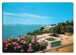 Tunisia Sidi Bou Said  Vintage H Ismail 4X6 Postcard - $4.99