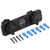 E Support 12V Dual Car Cigarette Lighter Socket Usb Adapter Charger Digi... - $19.18