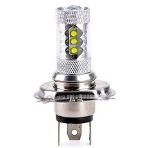 E Support H4 80w Cree 6000k White Car Light - $12.22