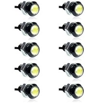 E Support 10W Led Drl Eagle Eye Light Car Pack of 10 - $15.98