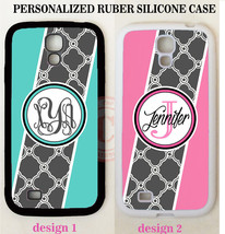 GEOMETRIC AQUA PINK GREY TRELLIS MOROCCAN MONOGRAM Case For Samsung Gala... - $11.99+