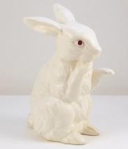 Vintage Napcoware white standing bunny rabbit f... - $15.00