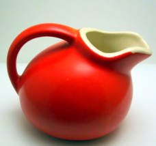 Vintage Cameron Clay Products red orange tilt b... - $18.00