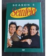 Seinfeld Season 4 DVD 2005 4-Disc Set - $8.99