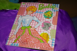 1973 Barbie Boutique Paper Doll Book Whitman Number 1954 Cut Doll And Ou... - $8.00