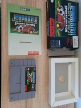 Super Nintendo SNES Jeopardy: Sports Edition ~ COMPLETE image 2