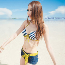 Women Sexy Bikini Push-up Padded Bra Bathing Suit Swimsuit Swimwear+Beac... - $16.14