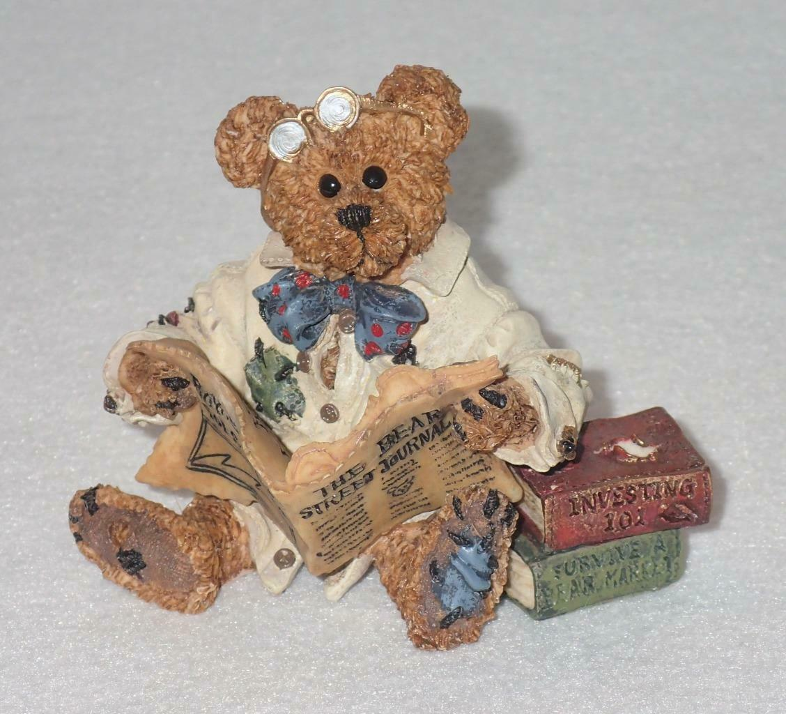 Boyd Bearstone Resin Bears Dean Newbearger III Bears & Bulls Figurine #227715