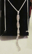 Irresistibly Sexy Tease Necklace - Silver tone  - $12.87