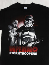 Star Wars Movie Imperial Stormtroopers Noire T-Shirt - $10.00