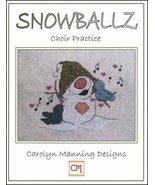 Snowballz Choir Practice cross stitch chart CM Designs  - $7.20