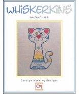 Sunshine Whiskerins cat cross stitch chart CM Designs - $7.20