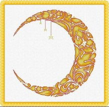 Summer Moon cross stitch chart Alessandra Adelaide Needlework - $15.30