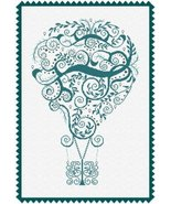 Surfing Air balloon cross stitch chart Alessandra Adelaide Needlework - $15.30