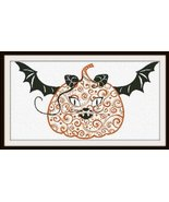 Halloween Confustion cross stitch chart Alessandra Adelaide Needlework - $16.20