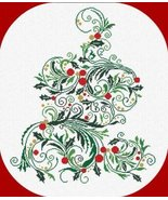 CT91 Christmas Tree cross stitch chart Alessandra Adelaide Needlework - $15.30