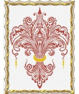 Another Fleur de Lys cross stitch Alessandra Adelaide Needlework - $15.30