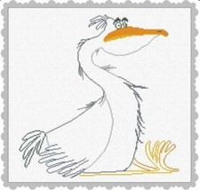 Bernardo seagull bird cross stitch Alessandra Adelaide Needlework - $17.10