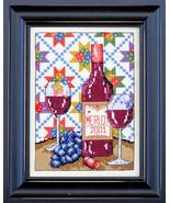 Wine Country cross stitch chart Bobbie G Designs - $7.20