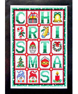 Christmas cross stitch chart Bobbie G Designs - $7.20