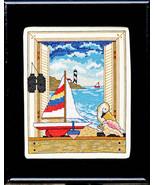 Open Window cross stitch chart Bobbie G Designs - $7.20