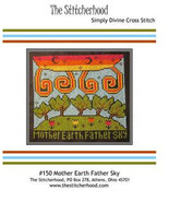 Mother Earth Father Sky cross stitch chart The Stitcherhood - $9.00