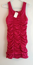 H&M Fuchsia Ruffle SHORT Club  Party Evening  D... - $39.97