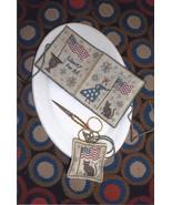 Lady Liberty Needlebook & Fob cross stitch chart Chessie & Me   - $10.80