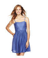 JESSICA SIMPSON $128 Sweetheart Day Evening Sun Summer Dress 6 Small S N... - $34.62