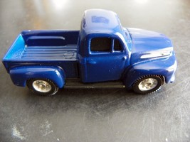 MAISTO '48 FORD F-1 PICK UP - BLUE 1:64 loose - $3.75