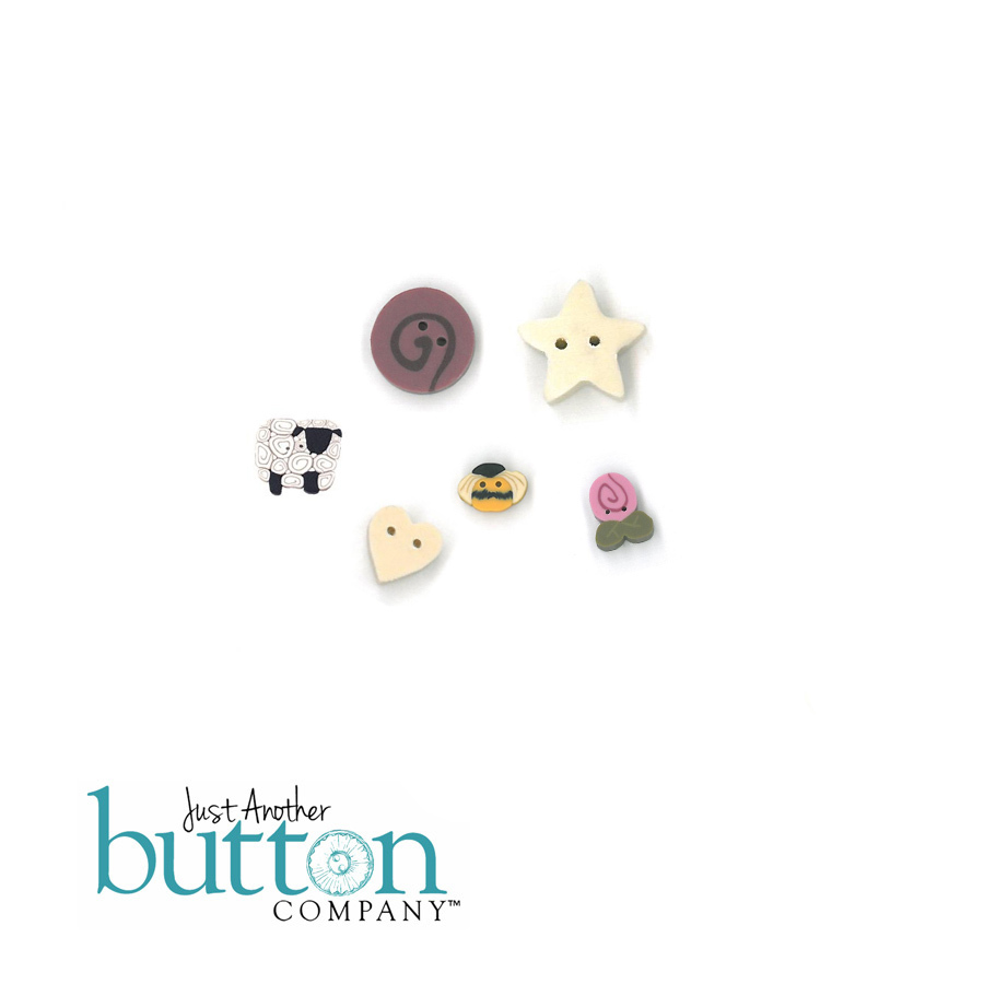 Summer trifles button pack