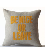 Decorative Pillow Cover Felt Cushion Case Be Ni... - $47.00