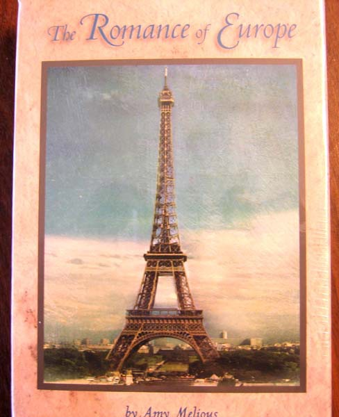 Primary image for PARIS  NOTE CARDS  The  Romance  of Europe by AMY MELIOUS  New  box of 16