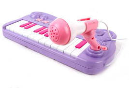 Purple  keyboard music Piano Organ with microphone Children's educationa... - $16.86
