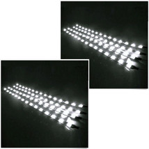Lot8 12V White 30cm Car Undercar Flexible Waterproof Light Strip 15 LED Sales - $6.96