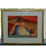 George Tooker Woman With A Sprig of Laurel Color Lithograph Artist Proof - $2,500.00