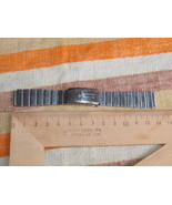 VINTAGE SOVIET RUSSIAN USSR STAINLESS  WRISTWATCH BAND 14 MM #12 - $11.77