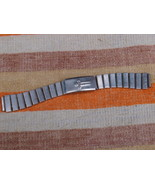 VINTAGE  STAINLESS  WRISTWATCH BAND 14 MM #14 - $7.64
