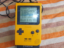 VINTAGE HANDHELD NINTENDO POCKET CONSOLE WITH PIRANHA RECHARGABLE BATTER... - $33.66