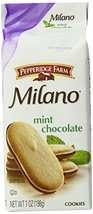 Pepperidge Farm, Milano, Cookies, Mint, 7 oz, 24-Count - $108.64
