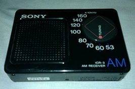 Vintage Sony Icr-3 Am Receiver [Electronics] - $118.79