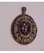 Vintage Caravelle Watch Pendant Necklace - $25.69