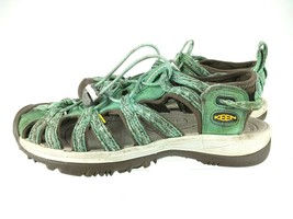 Keen 1016243 Green Whisper Waterproof Sports Sandals Womens Size 8 - $32.68