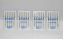 Schmetz Universal Sewing Needles 4 Packages of ... - $9.49