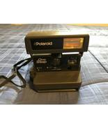 Vintage Polaroid One Step Instant 600 Film Camera w/ Strap - $17.81