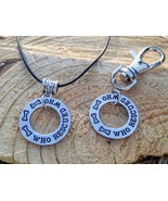 Who Rescued Who Necklace & Dog Tag - £9.54 GBP+