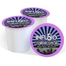 96 Count - Colombian Supremo - InfuSio Coffee, Single-serve Cups for Keurig K-cu - $33.99
